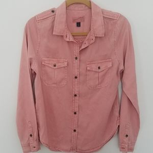 NWT Universal Thread Blush Rose Tencel Top Shirt